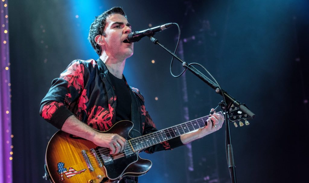 Kelly Jones from Stereophonics performs at Brighton Centre on March 2, 2020 in Brighton, England.