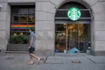 Starbucks rainbow pride t-shirt lawsuit