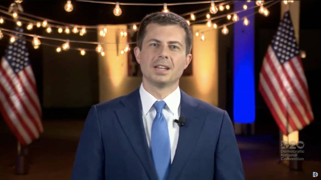 Former Mayor of South Bend, Indiana Pete Buttigieg