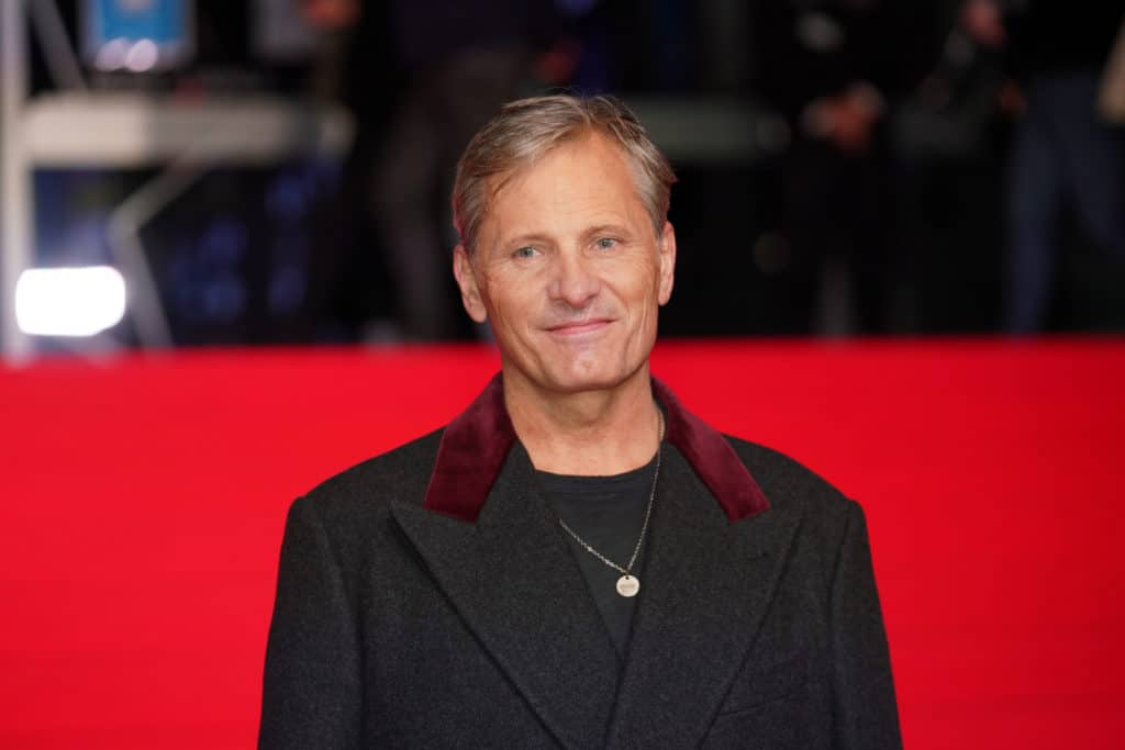 Director Viggo Mortensen at the premiere of Falling