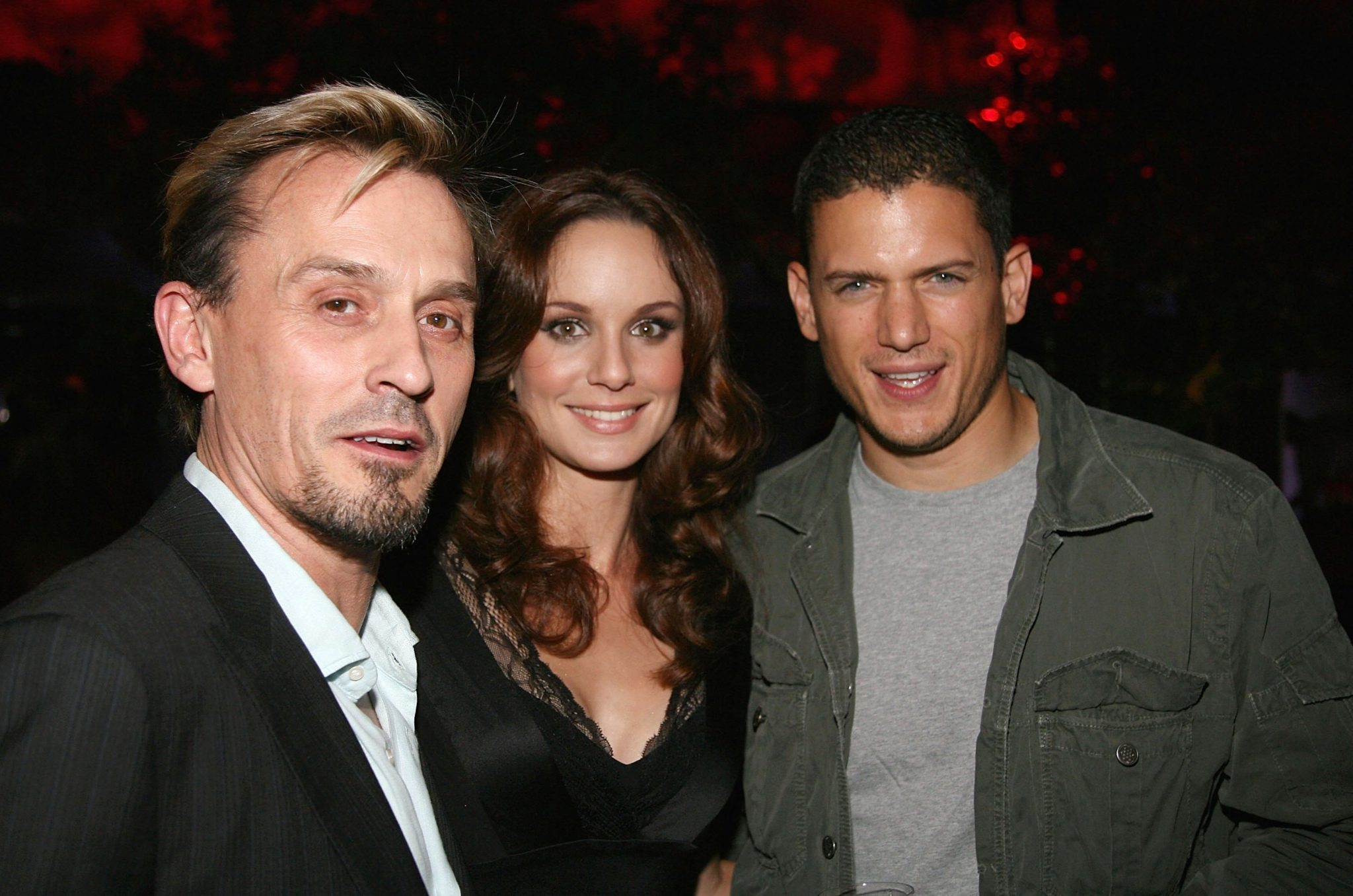 Prison Break actors Robert Knepper, Sarah Wayne Callies and Wentworth Miller, who play T-Bag, Sara and Michael, in 2006