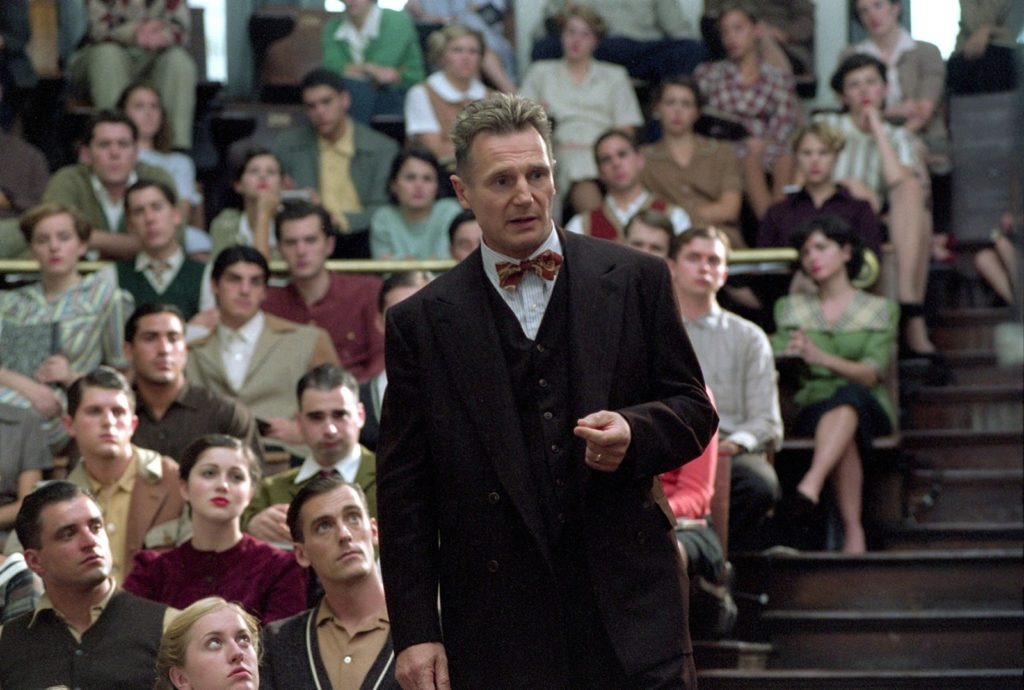 Liam Neeson as Alfred Kinsey