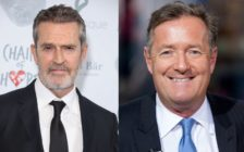 Rupert Everett Piers Morgan