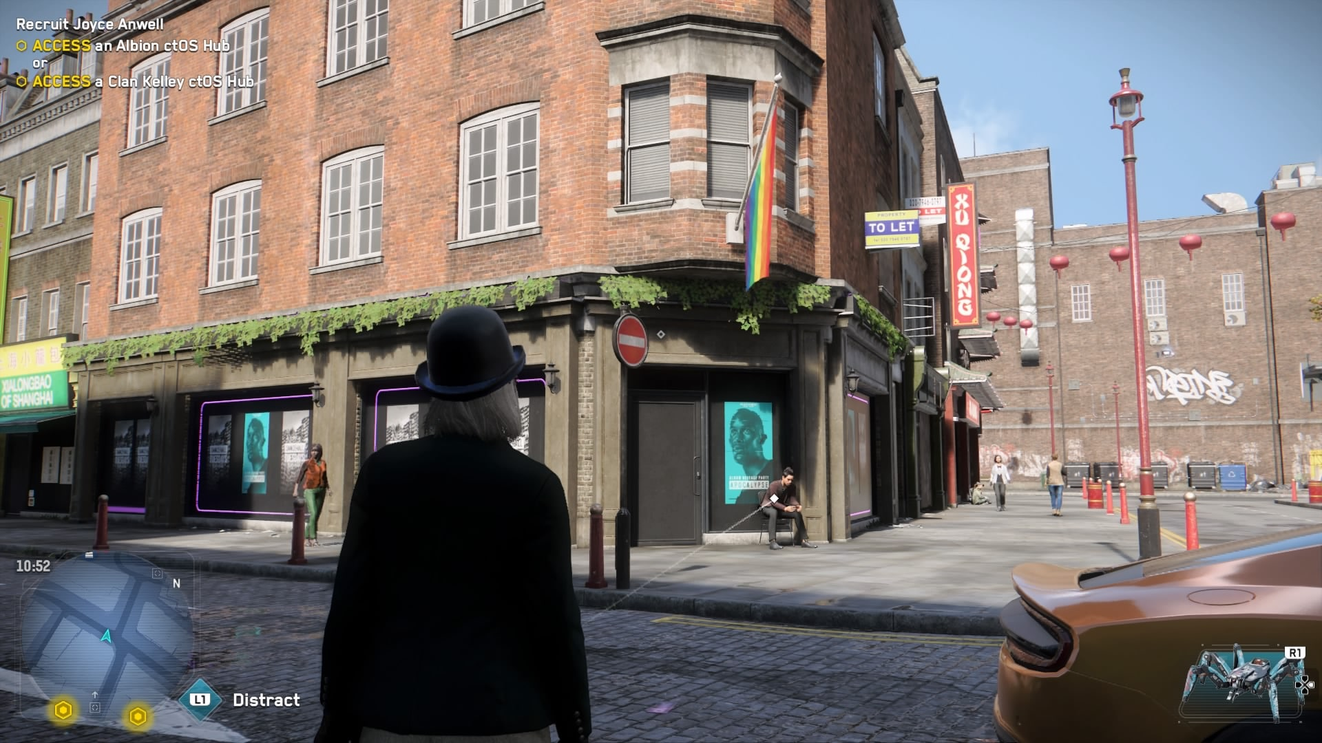 Watch Dogs: Legion is notably LGBT+ inclusive, featuring rainbow flags in place of several real-life London LGBT+ venues