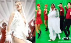 """Alison Hammond recreating Kylie's music video for """"Can't Get You Out of My Head"""""""