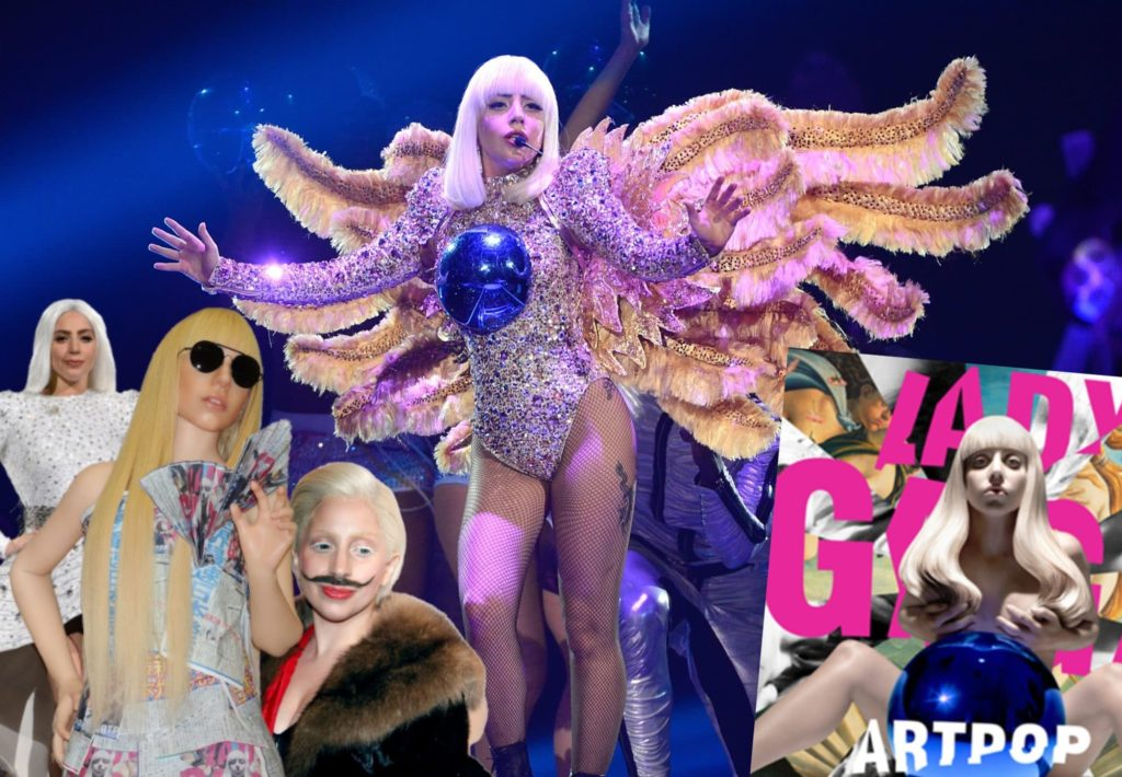 ARTPOP, that weird Lady Gaga album you may or may not have thought was a fever dream. (Getty)