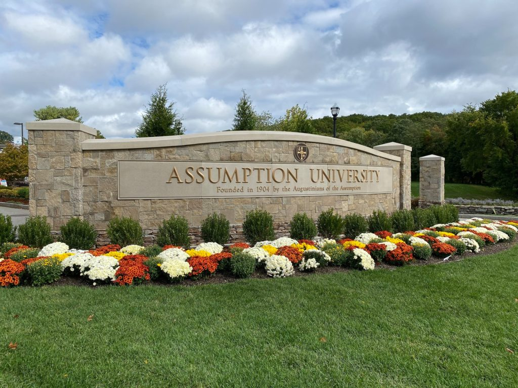 Assumption University, a private Catholic university in Massachusetts