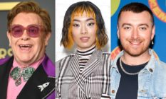 Sir Elton John, Rina Sawayama and Sam Smith