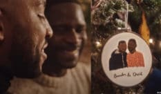 An adorable Black gay couple were featured in a new Etsy ad. (Screen captures via YouTube)
