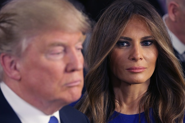 Donald Trump and his wife Melania. (Chip Somodevilla/Getty Images)