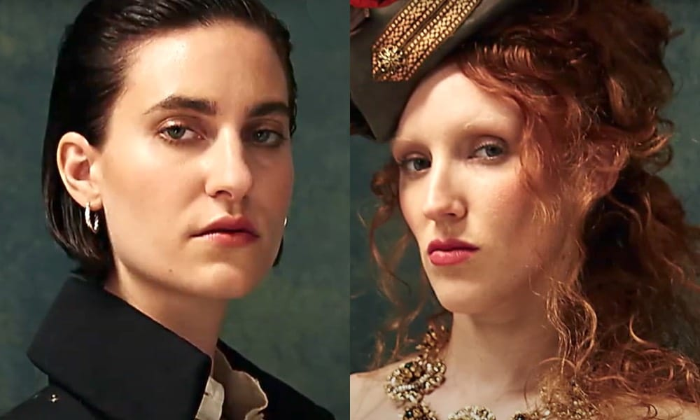 Anne Bonny and Mary Read as Michelle Fox and Erin Doherty