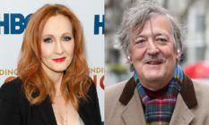 JK Rowling and Stephen Fry