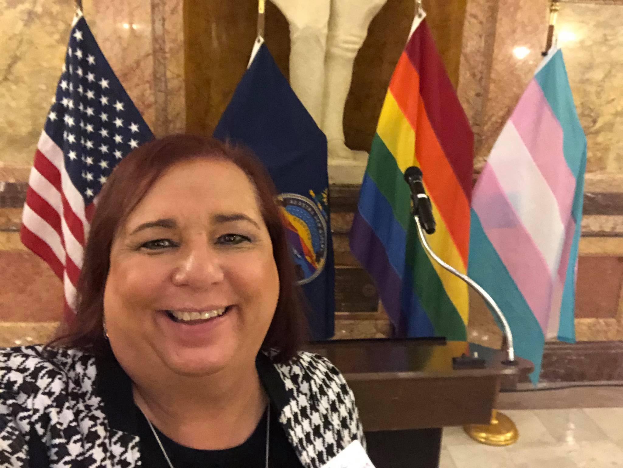 Stephanie Byer is the first Native American trans woman elected to office anywhere in the United States