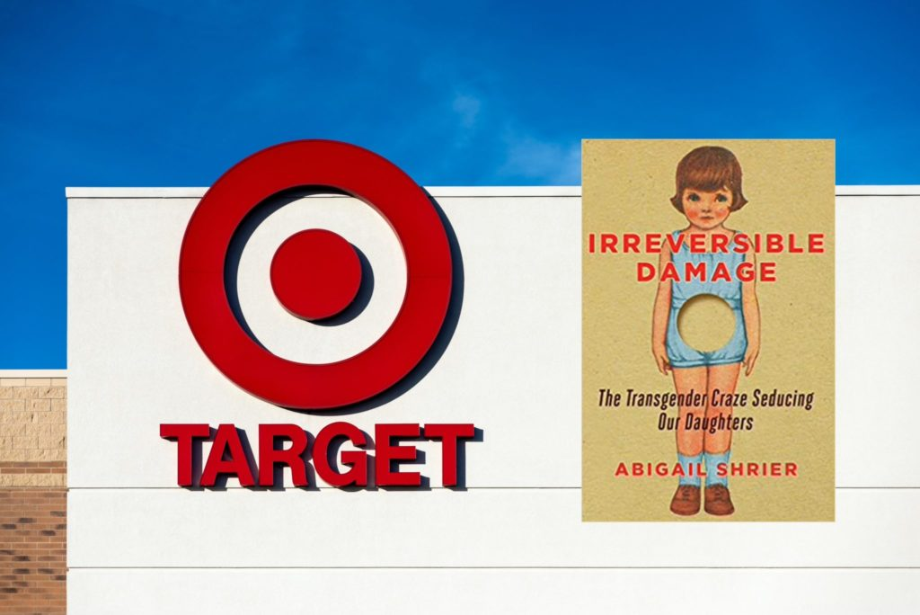Target initially announced it would pull an anti-trans book off its shelves, but later backtracked. (Getty)