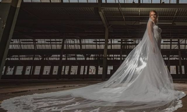 A bride at The Warehouse on Ivy