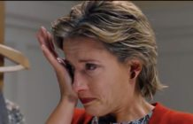 Emma Thompson crying in Love Actually