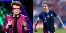 Billie Jean King and Megan Rapinoe