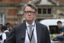 The influential Labour Party figure, Lord Peter Mandelson