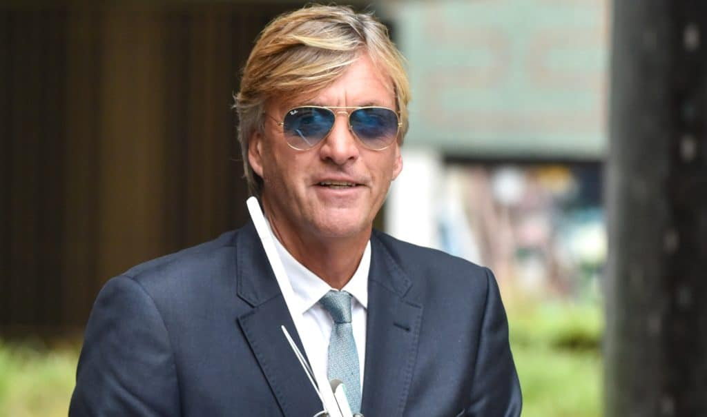 Richard Madeley seen outside the ITV Studios on August 28, 2019 in London, England.