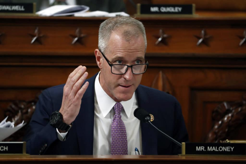 Gay congressman Sean Patrick Maloney has been elected to a powerful role