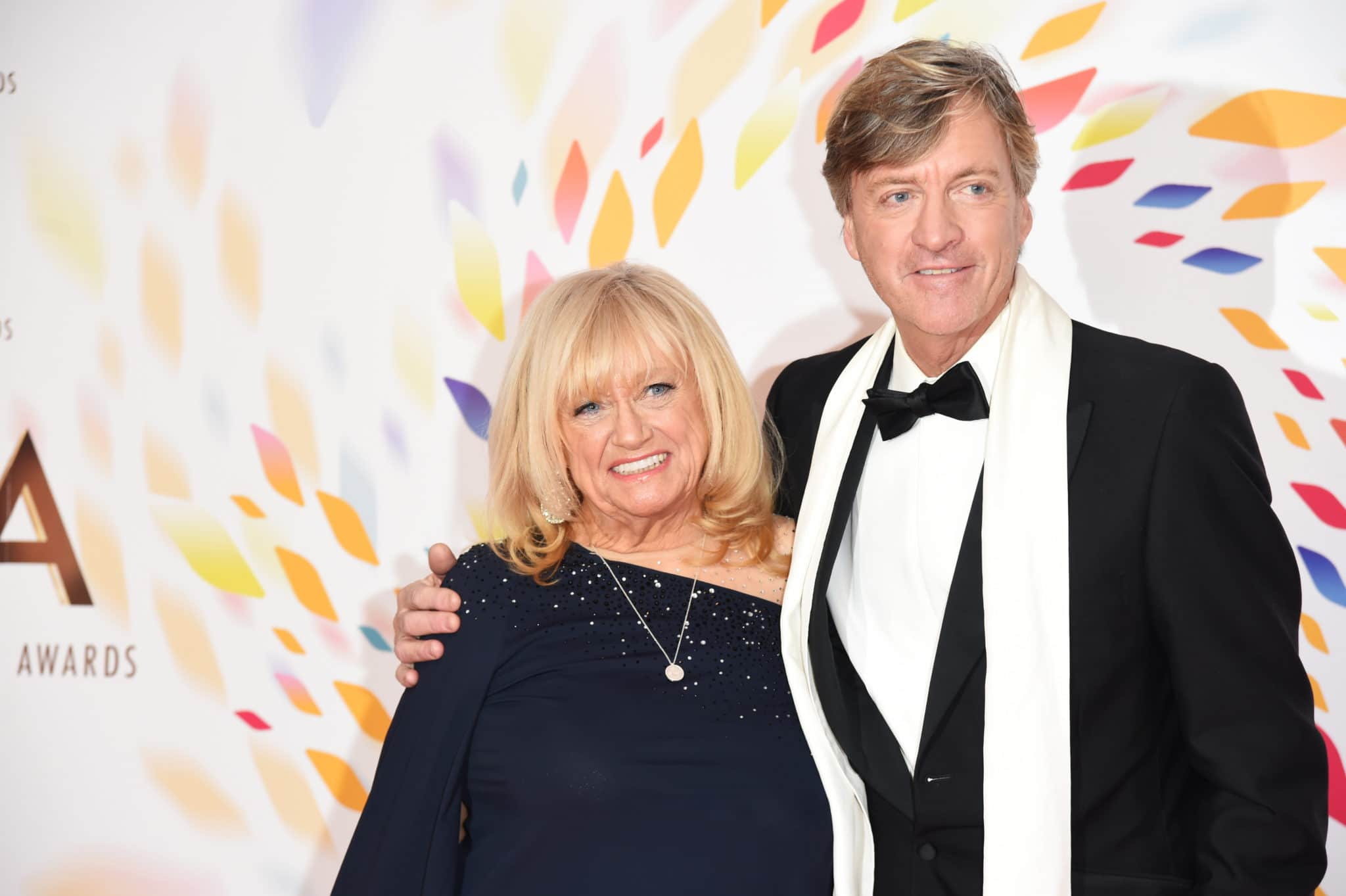 Judy Finnigan and Richard Madeley at the National Television Awards 2020