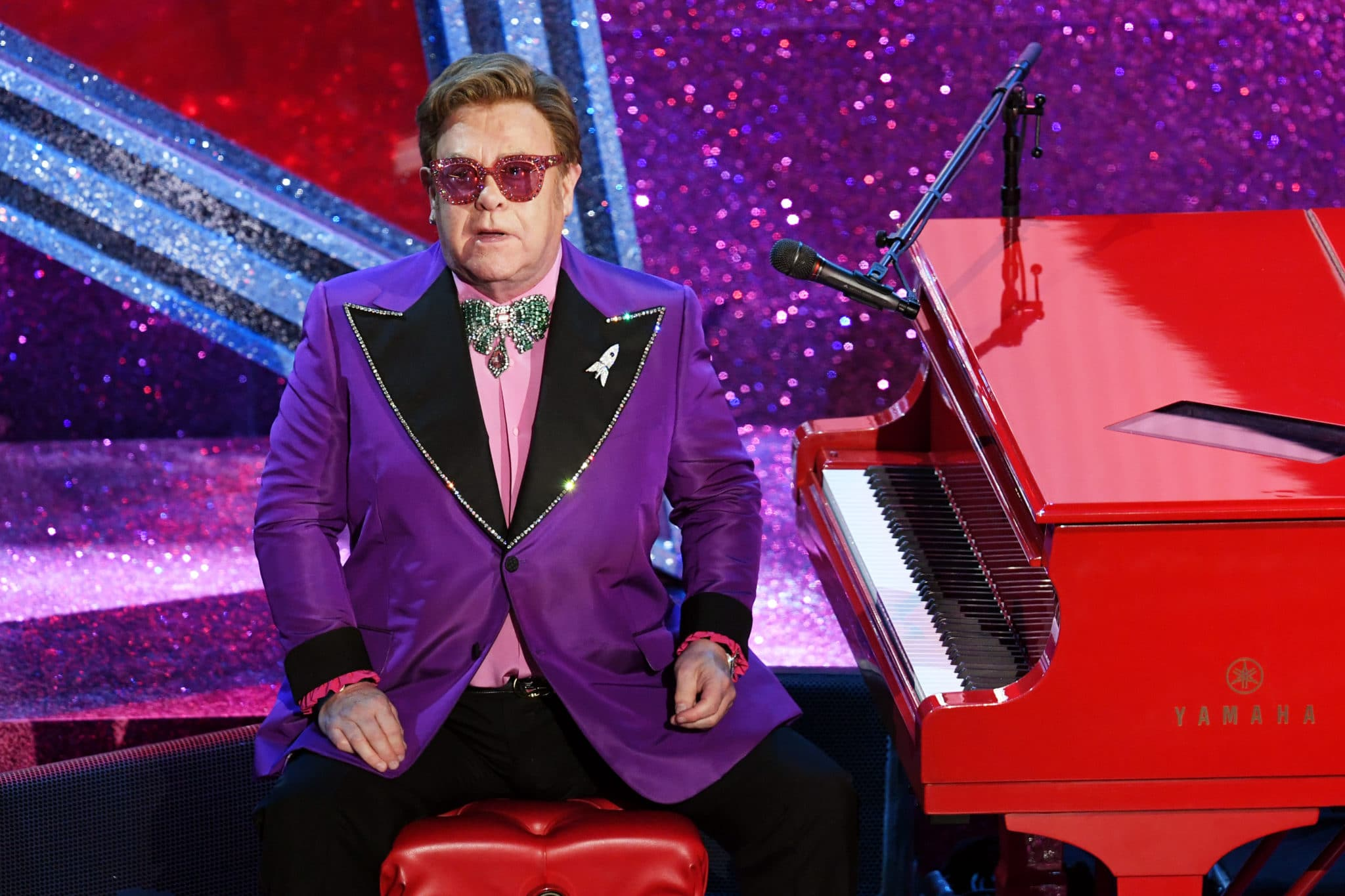 Sir Elton John had to cut his tour short