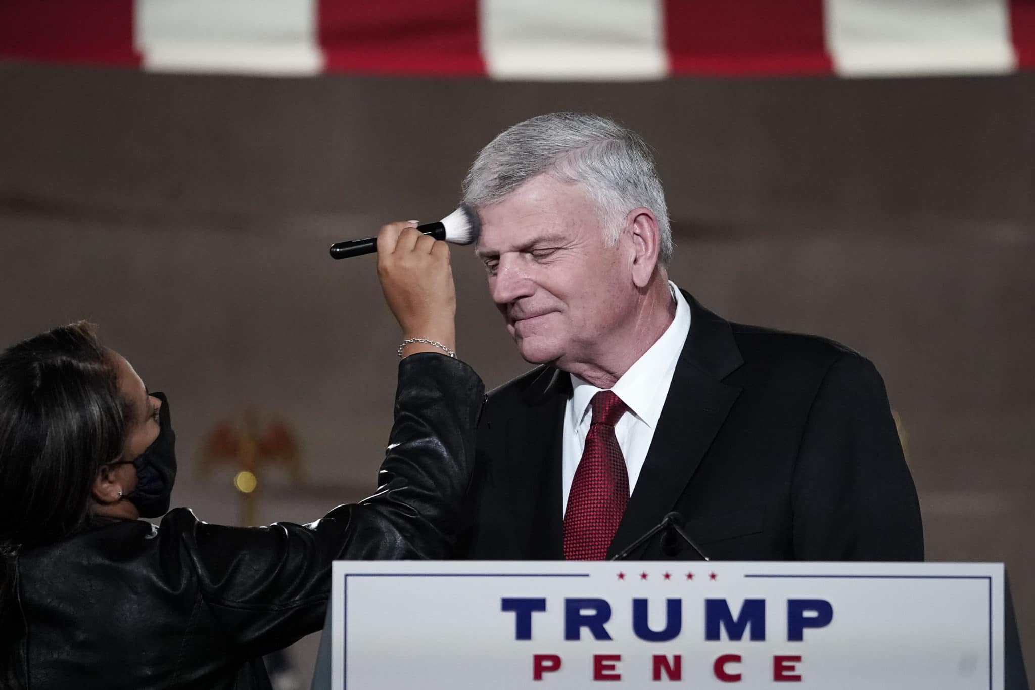 Rev. Franklin Graham, speaks at the Republican National Convention