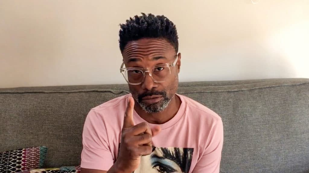 Billy Porter fronted a fundraising video for GLAAD