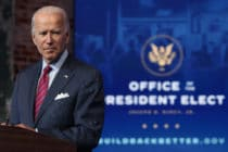 US President-elect Joe Biden praised Nancy Pelosi
