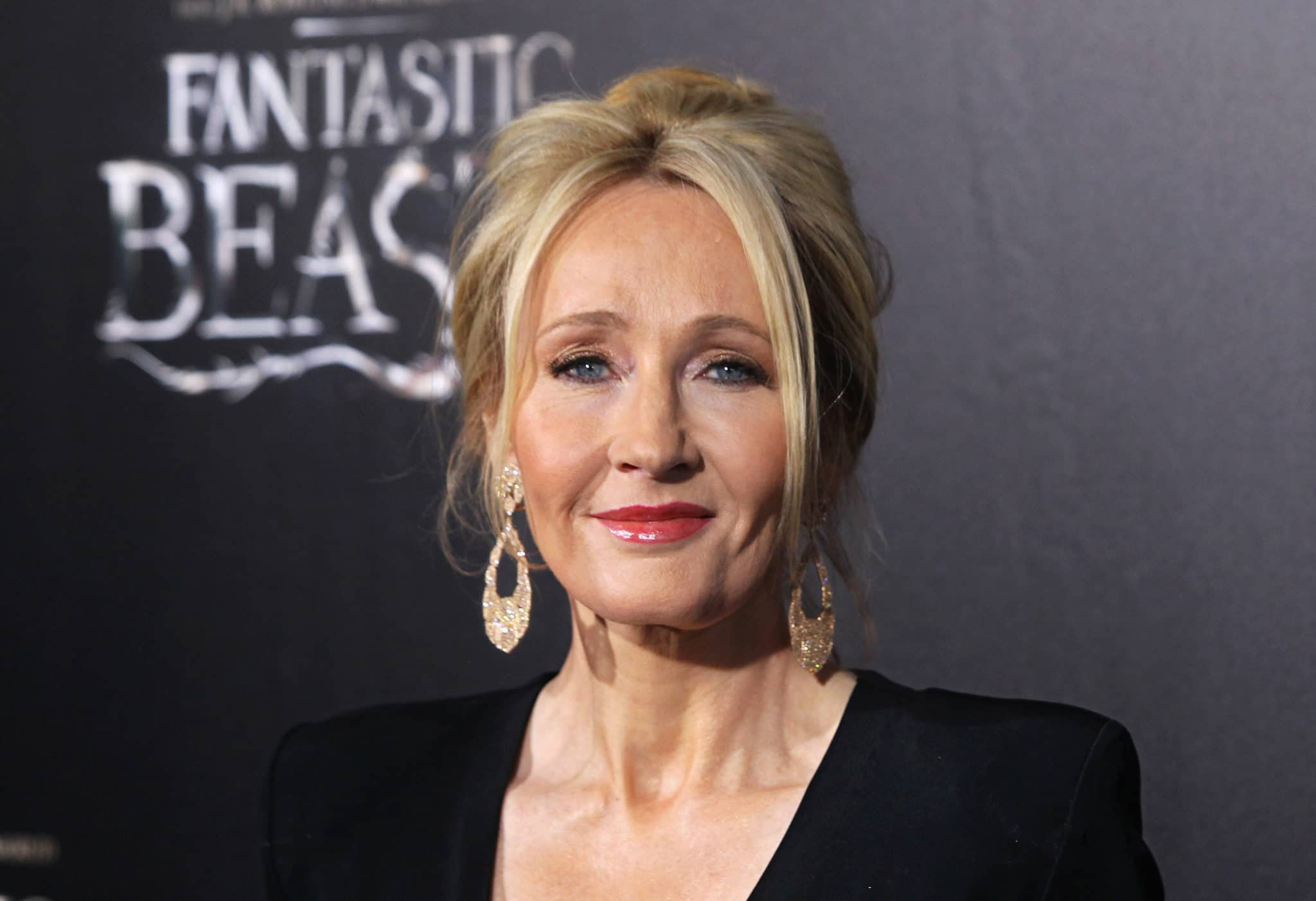 Harry Potter author JK Rowling attends the Fantastic Beasts And Where To Find Them premiere in 2016