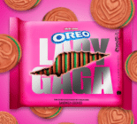 A packet of the Lady Gaga Oreo cookies. (Oreo)