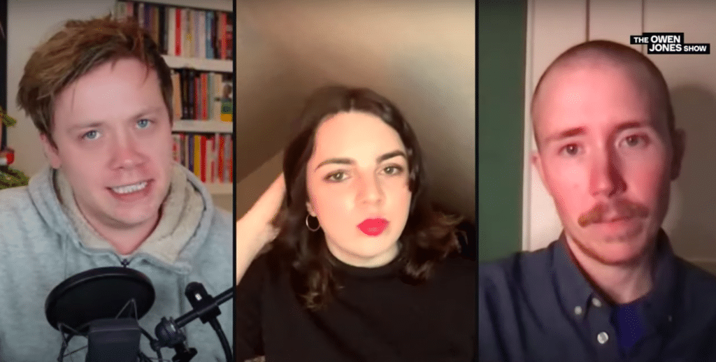 Owen Jones, Shon Faye and Freddy McConnell dissect British transphobia
