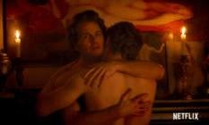 Queer sex scene in trailer for Bridgerton