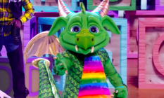 Dragon performs on The Masked Singer