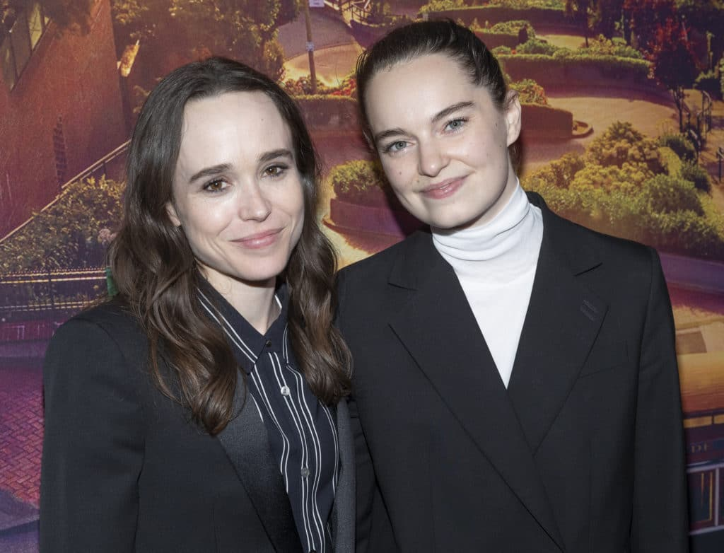 Elliot Page Proud Wife Emma Portner Expertly Shuts Down Bigoted Troll