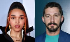 FKA twigs (L) and Shia LaBeouf.