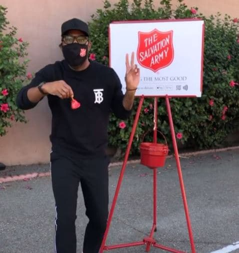 Queer Eye star Karamo Brown promoted the Salvation Army