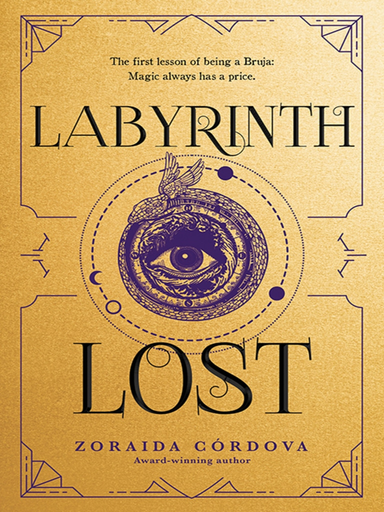 Labyrinth Lost is part one in the Brooklyn Brujas Series