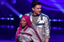 Lady Leshurr pansexual LGBT dancing on ice