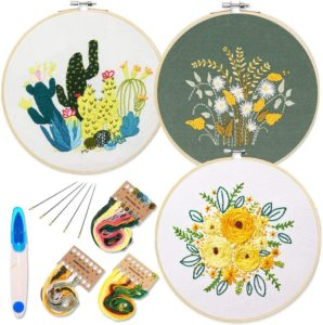 Embroidery set for beginners