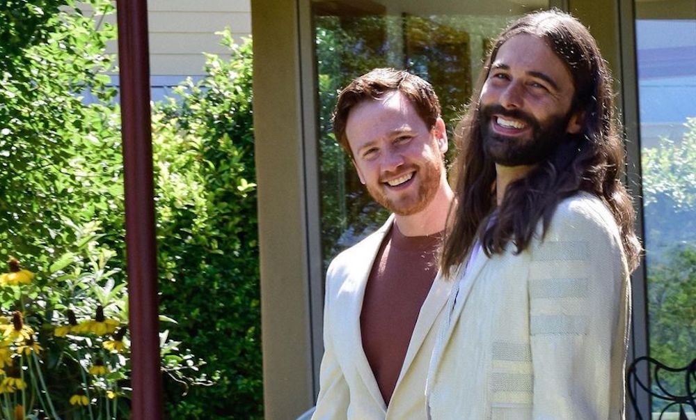 Jonathan Van Ness and Mark Peacock