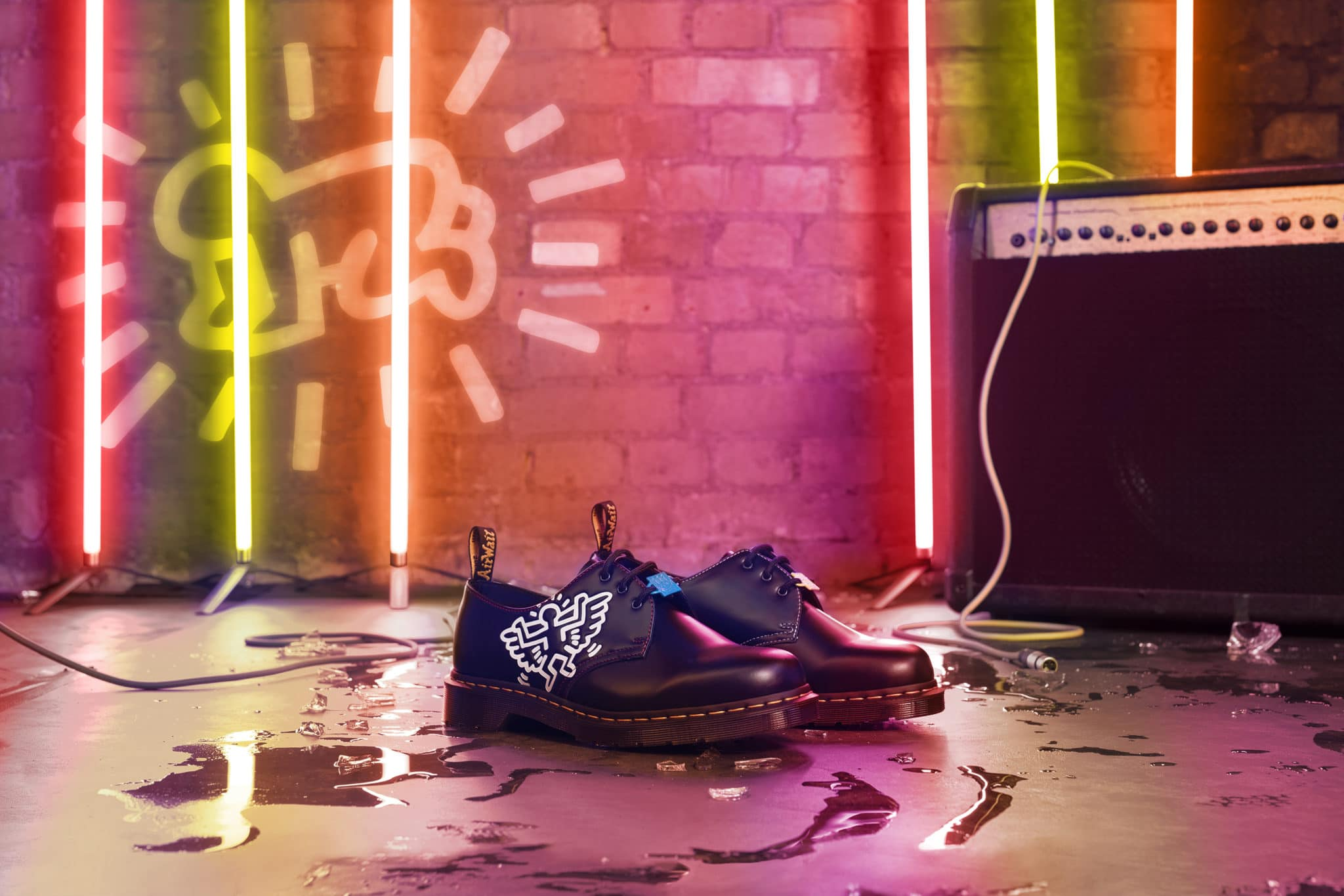 Dr. Martens have teamed up with the Keith Haring Foundation for a new collection