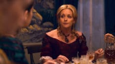 Jane Krakowski as Mrs Dickinson in Apple TV series Dickinson