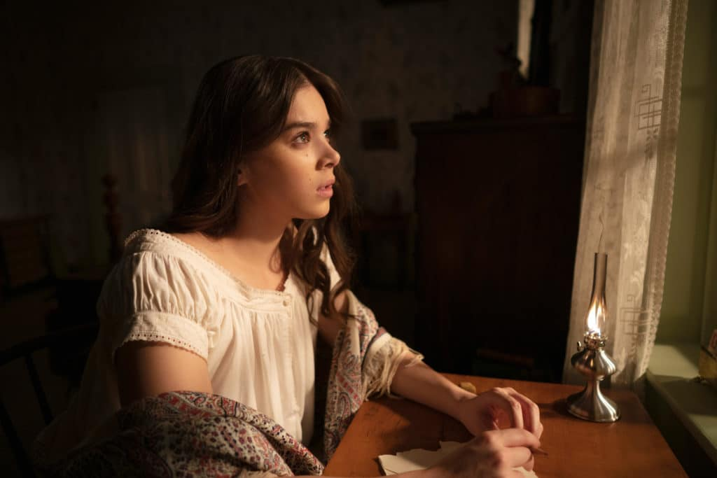 Hailee Steinfeld as Emily Dickinson in Apple TV series Dickinson