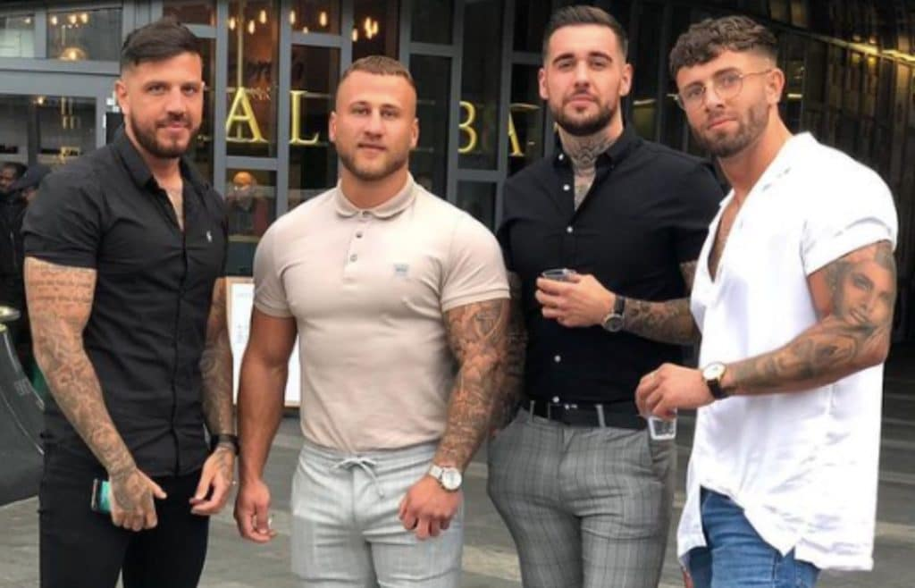 Four Lads in Jeans homophobia McDonald's