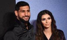 Boxer Amir Khan and his wife Faryal Makhdoom