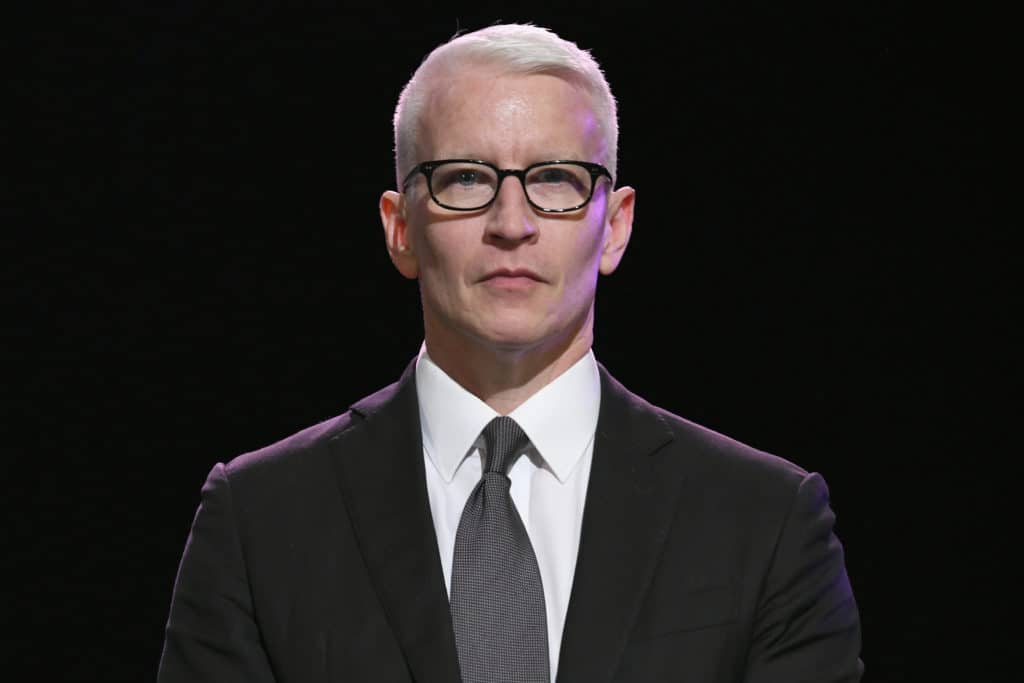 CNN anchor Anderson Cooper
