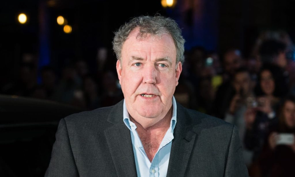 Jeremy Clarkson is - as per usual - exhaustingly heterosexual.