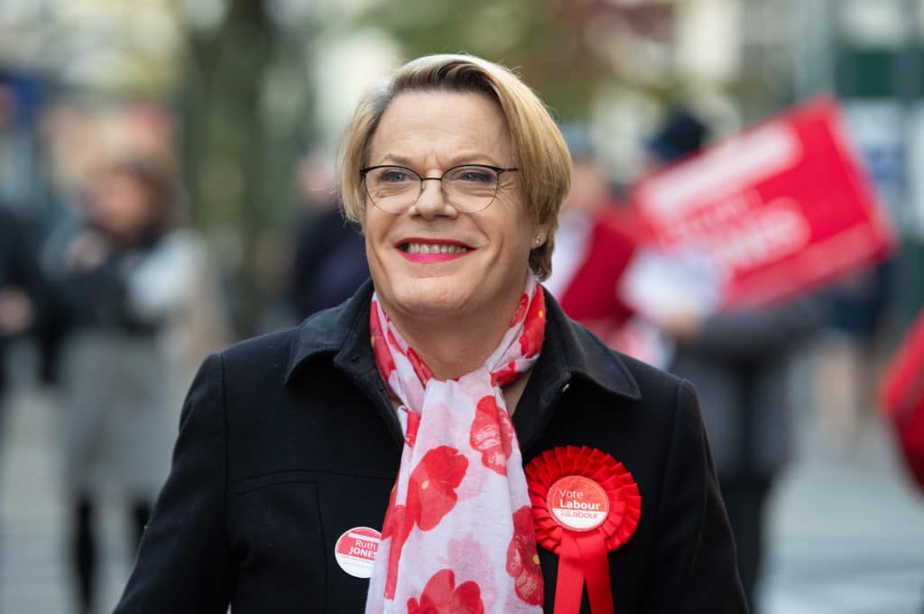 Eddie Izzard, comedian and political activis