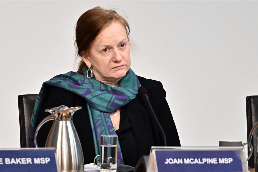 Joan McAlpine: SNP MSP uninvited from student event over trans views